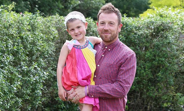 Devoted dad inspired by his daughter to do a triathlon every day