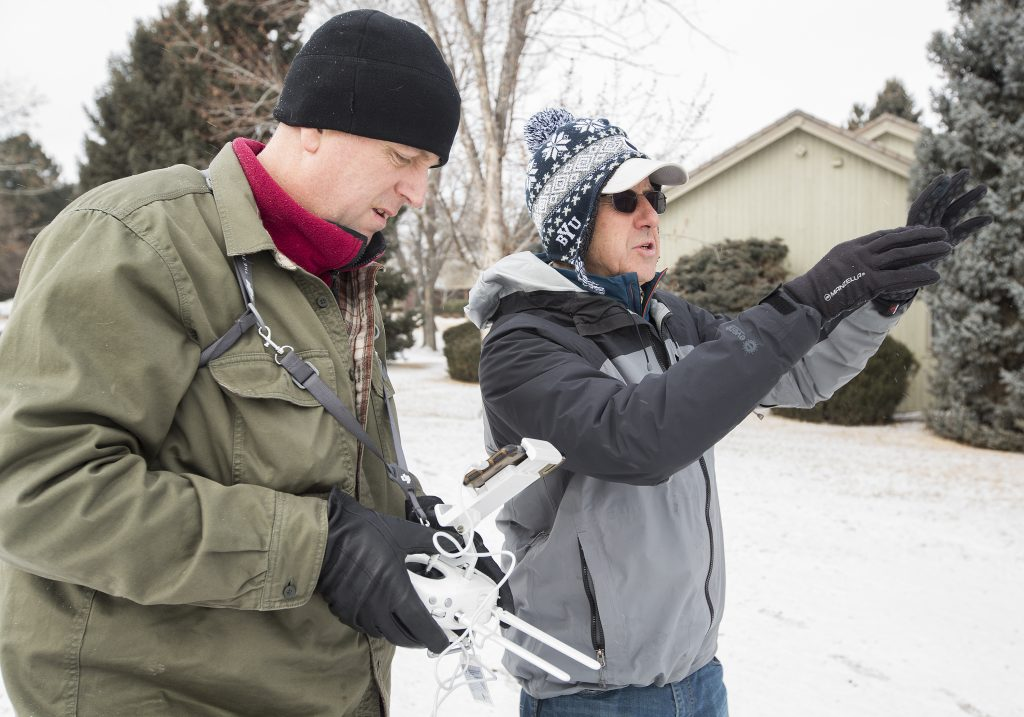 Drone photography gives Greeley businesses a boost – Greeley Tribune