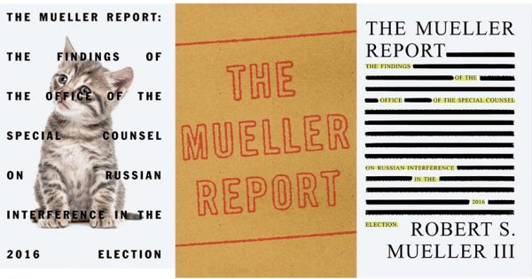 Here's What Book Covers Might Look Like for The Mueller Report