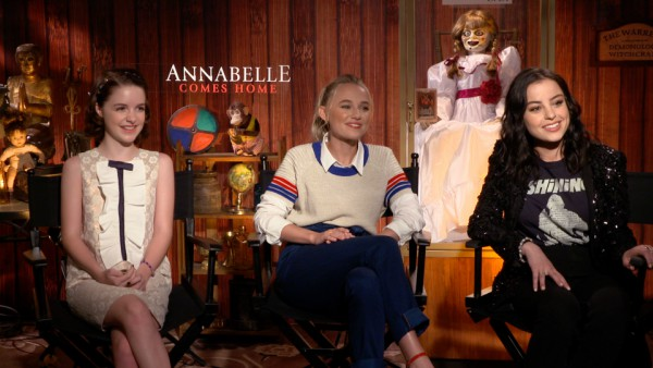 'Annabelle Comes Home' Cast on Why It's So Hard to Play Scared