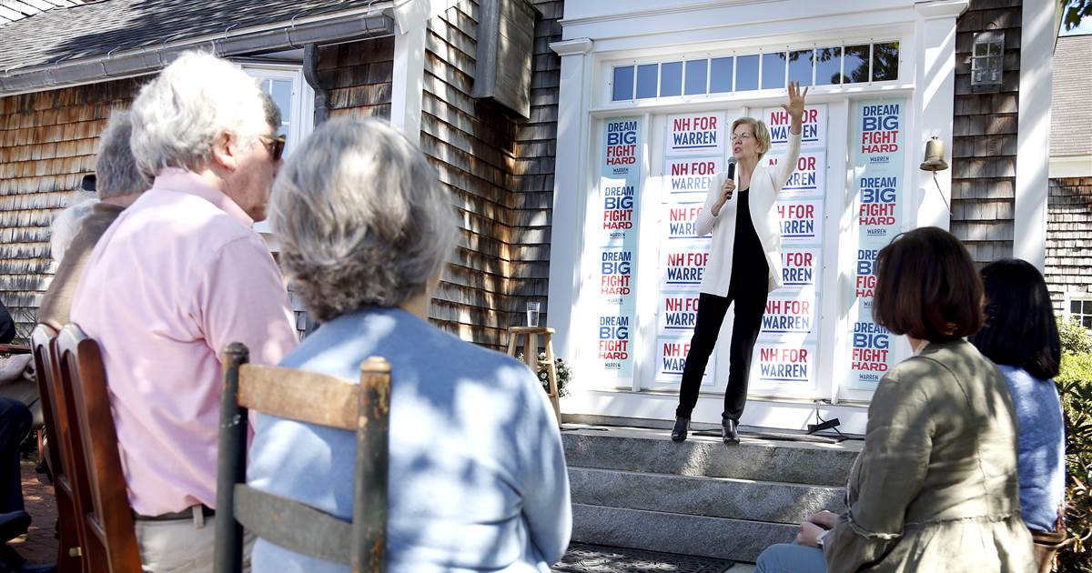 Inside Warren's early-state sleeper campaign