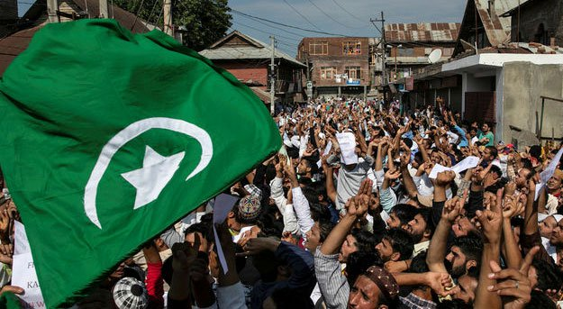 Besieged occupied Kashmir neighbourhood in test of wills with Modi