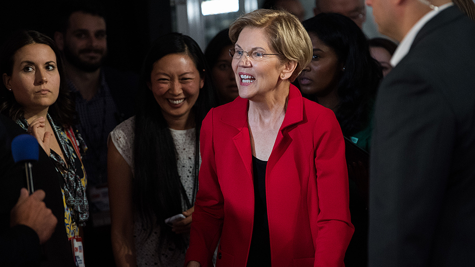 Warren says 12,000 attended St. Paul rally