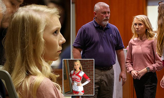 Ohio cheerleader Brooke Skylar Richardson, 20, goes on trial for aggravated murder
