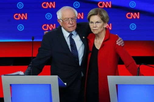 Sanders is said to have told Warren that a woman could not win the presidency