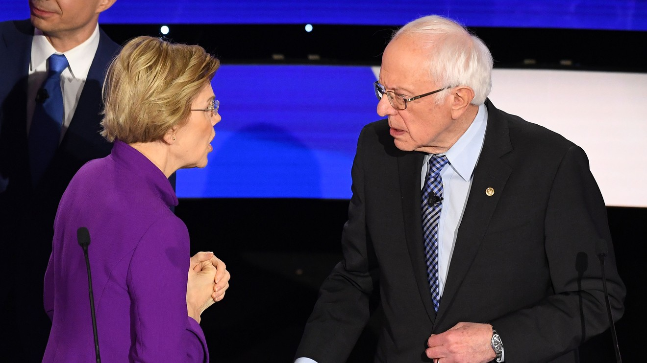 The Margin: #NeverWarren is suddenly trending on Twitter, and people are having flashbacks to the 2016 presidential election