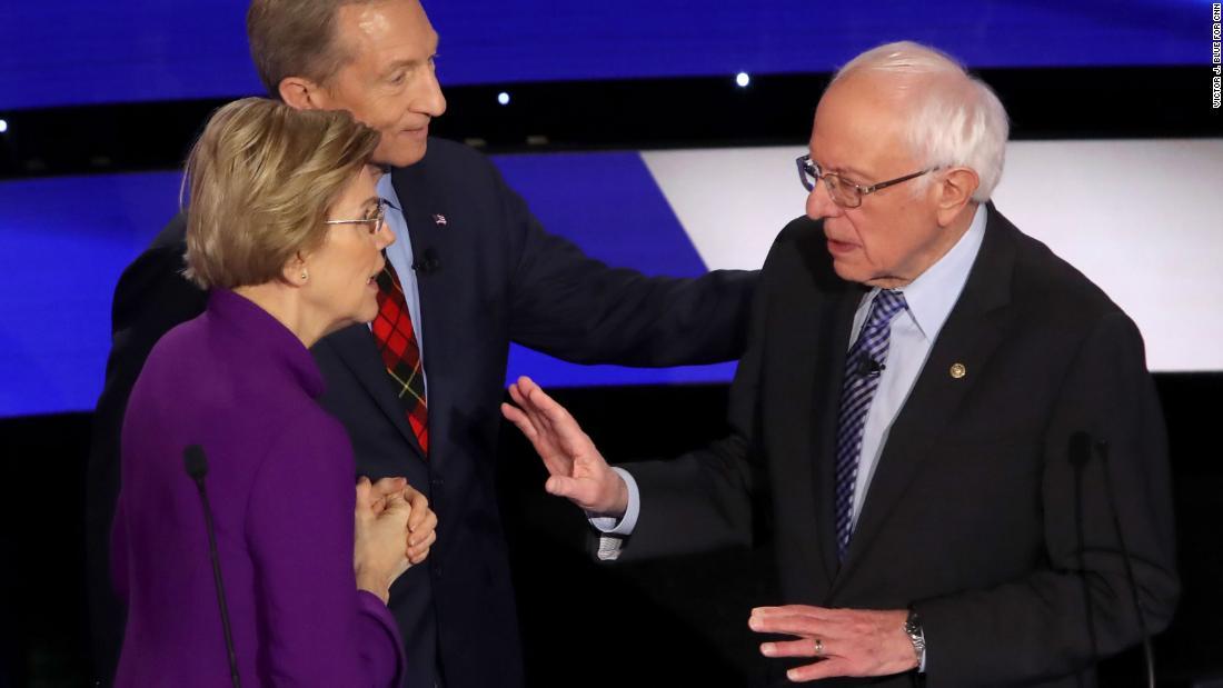 The Warren-Sanders feud just got way worse