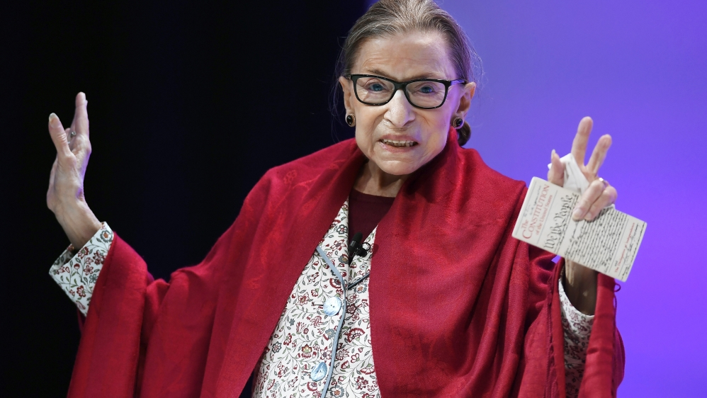 Aryeh Neier: My memories of Ruth Bader Ginsburg